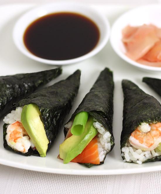 sushi rolls. Black Bedroom Furniture Sets. Home Design Ideas