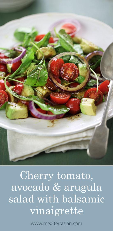 Avocado Salad Dressing Recipes Balsamic Vinegar