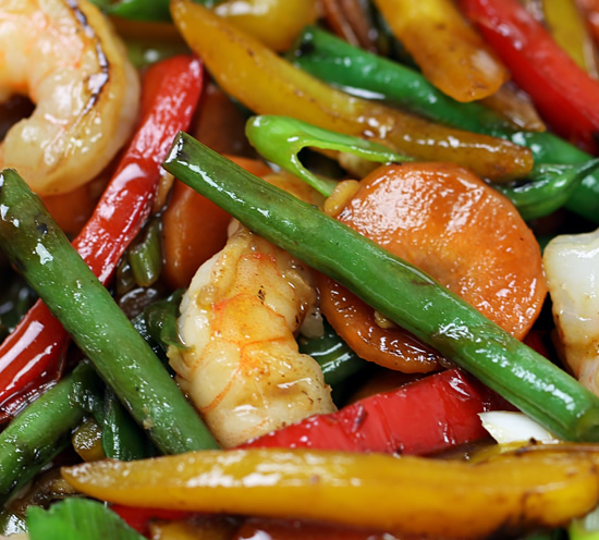 Cantonese shrimp and vegetable stir fry the sauce has a wonderful sweet savory taste that makes it a versatile all purpose base for many chinese style dishes its made with only three forumfinder Image collections