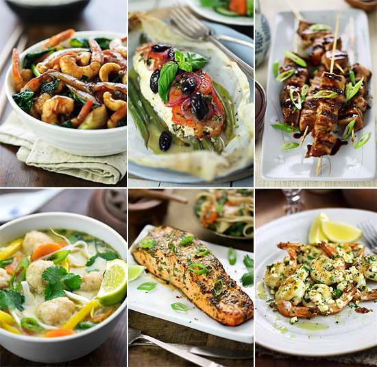 30 Mediterranean And Asian Fish And Shellfish Recipes