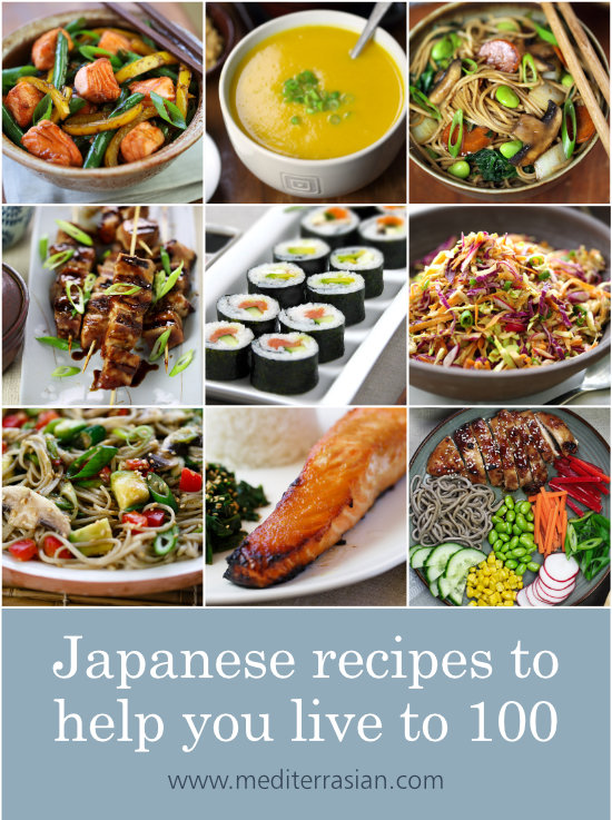 Japanese Recipes To Help You Live To 100